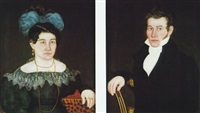 portraits of a lady and a gentleman by royall brewster smith