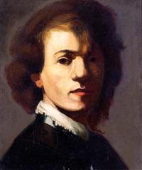zelfportret rembrandt by bram van velde