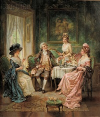 tea time by edward percy moran