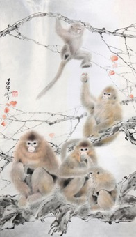 金丝猴 by lin hukui