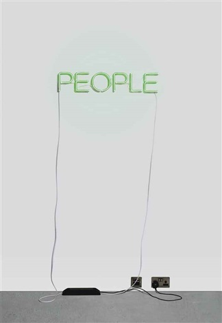 work no. 376 - people by martin creed