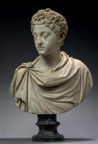 marc aurèle jeune à la chevelure bouclée, vêtu d'une chlamyde retenue sur l'épaule par une fibule by anonymous-italian (18)