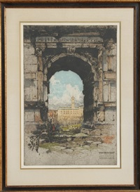 arch of titus by luigi kasimir
