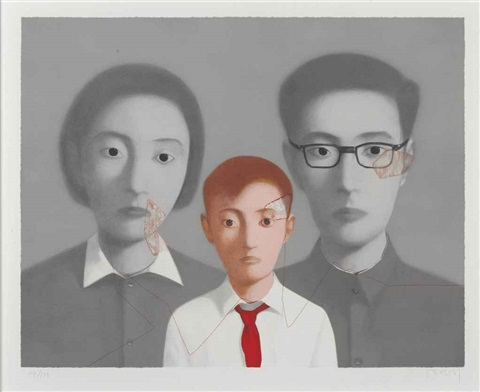 big family from bloodlines by zhang xiaogang