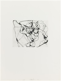 after botticelli 2 (from after botticelli) by brice marden