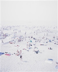 untitled (knokke beach) by massimo vitali