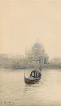 s. maria della salute, venedig by guido agostini