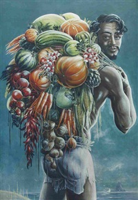 a vegetable seller by stuart m. armfield