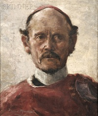 the cardinal (study) by florence mackubin