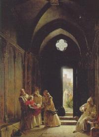 la mort du prince de talmont by fleury-francois richard