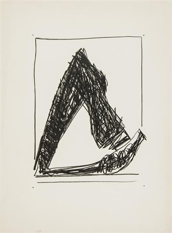 summer time in italy with crayon by robert motherwell