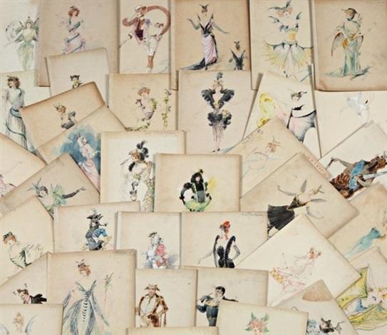 le bestiaire costumes principalement pour loie fuller 38 works by alexandre jean louis jazet