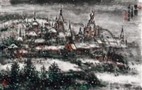 春雪 by zhang jinjian