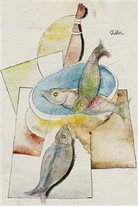 stilleben mit fischen by jankel adler