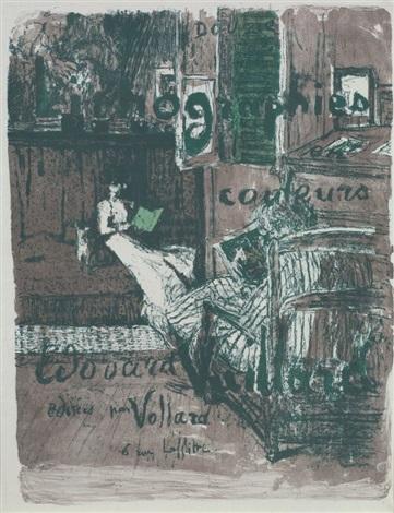 paysages et intérieurs cover et la femme au bouquet 2 works by edouard vuillard