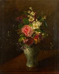 bouquet de fleurs by louise darru