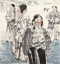 人物 by ma guoqiang
