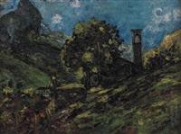 paesaggio montano by ermenegildo agazzi