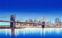 new york skyline by david linton