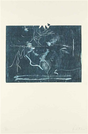 monoprint xiii--the clearing by helen frankenthaler