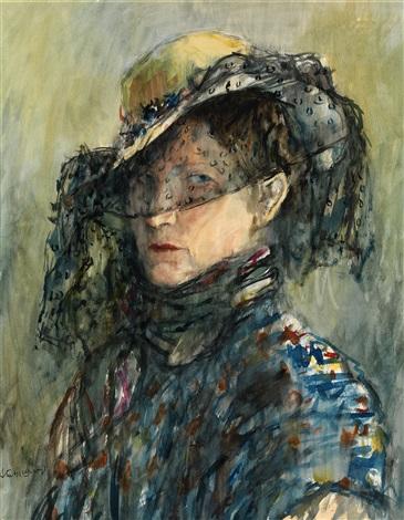 portrait of anastasia tyshler by aleksandr grigorevich tyshler