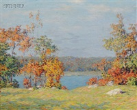 autumn colors by marion p. howard