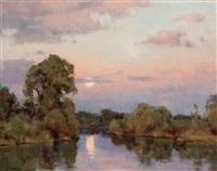 moonrise by clyde aspevig