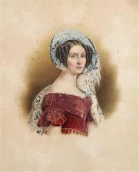 portrait königin therese von bayern by franz xaver nachtmann