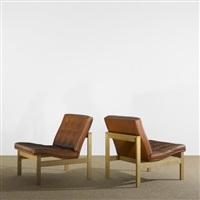 lounge chairs (pair) by ole gjerlov knudsen