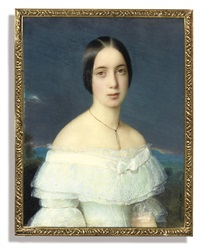 countess appollonia wielogórska by johann michael holder