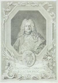 ritratto di zaccaria da canal, cavaliere e procuratore di s.marco by pietro monaco