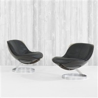 sphere chairs (pair) by boris tabacoff