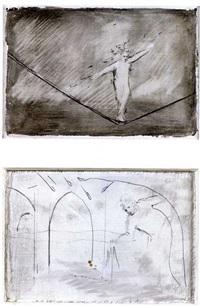 sans titre (3 works, 1 sgd) by joseph ascrizzi