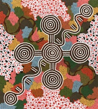 walpa (wind) dreaming by tjakamarra michael nelson