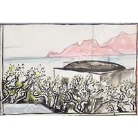 paesaggio siciliano by renato guttuso
