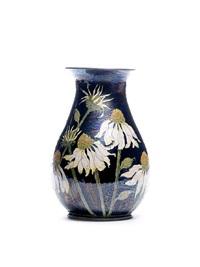 echinacea floral vase by lise b moorcroft