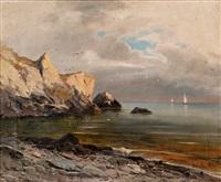 sea landscape by mikhail alisov