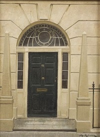 46 hertford street: london doorway by andré renoux