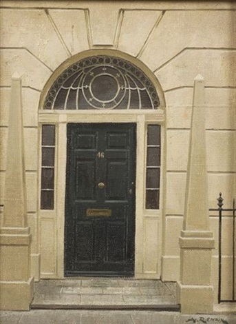 46 hertford street london doorway by andré renoux