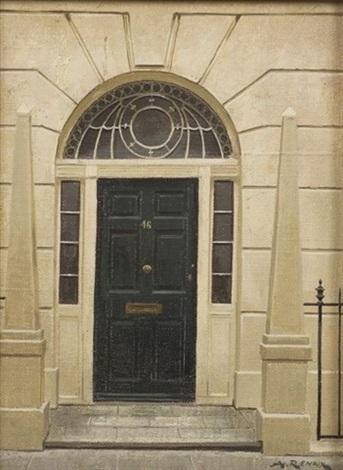 46 hertford street london doorway by andré renoux