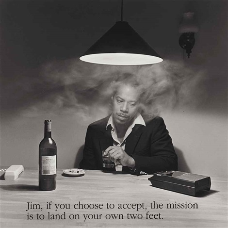 jim if you choose to accept the mission is to land on your own two feet by carrie mae weems