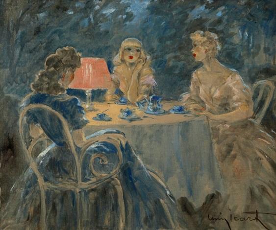 lheure bleue by louis icart
