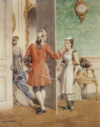 the philanderer by gustave david
