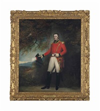 captain and lieutenant-colonel robert dalrymple by john westbrooke chandler
