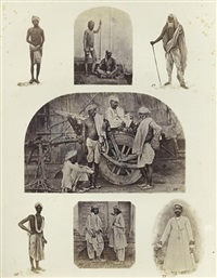 the textile manufactures and the costumes of the people of india (bk w/9 works, folio) by john forbes watson