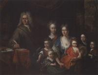 familienporträt by adriaan van der burg