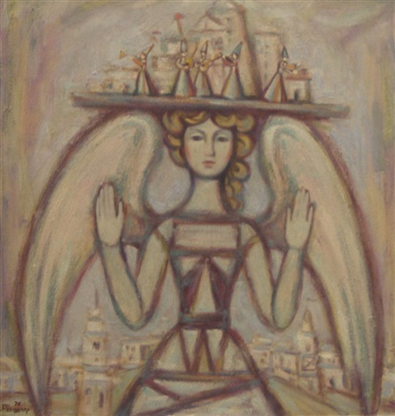 angel by aleksandr grigorevich tyshler