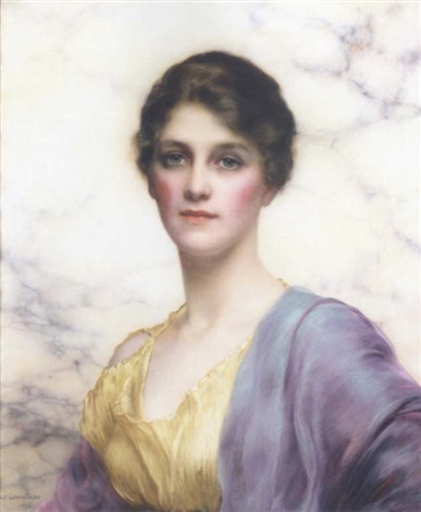 an emerald eyed beauty by william clarke wontner