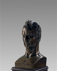 bust of alexander von humboldt (1769-1859) by pierre jean david d' angers