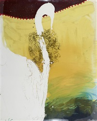 big swan by julian schnabel